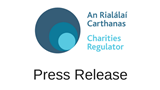 Charities Regulator Press Release Banner